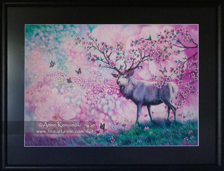 Kirsikankukkapeura (Cherry Blossom Deer)