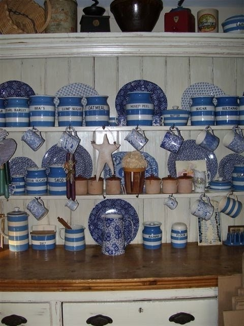 17 Best Images About Cornishware On Pinterest