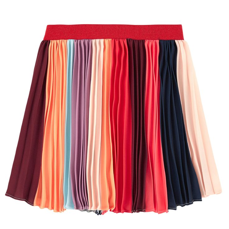 This item draws inspiration from the woman's range Polyester crepe Lurex details Flared hem Pleats under the waistband Elastic waistband Random colours on each item - $ 109.80