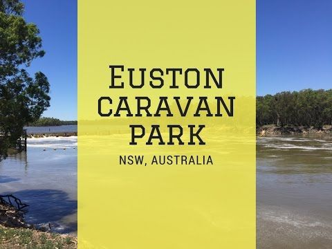 Euston Riverfront Caravan Park- loveyourtravels review - YouTube