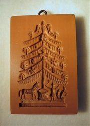 Amazon.com: Victorian Christmas Tree with Toys springerle cookie mold by Anis-Paradies: Kitchen & Dining