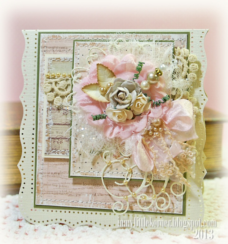 Papercraft Card Making Ideas Part - 25: In My Little Korner: TSTR-Oh So Pretty In Pink · PapercraftCardmakingShabby  ...