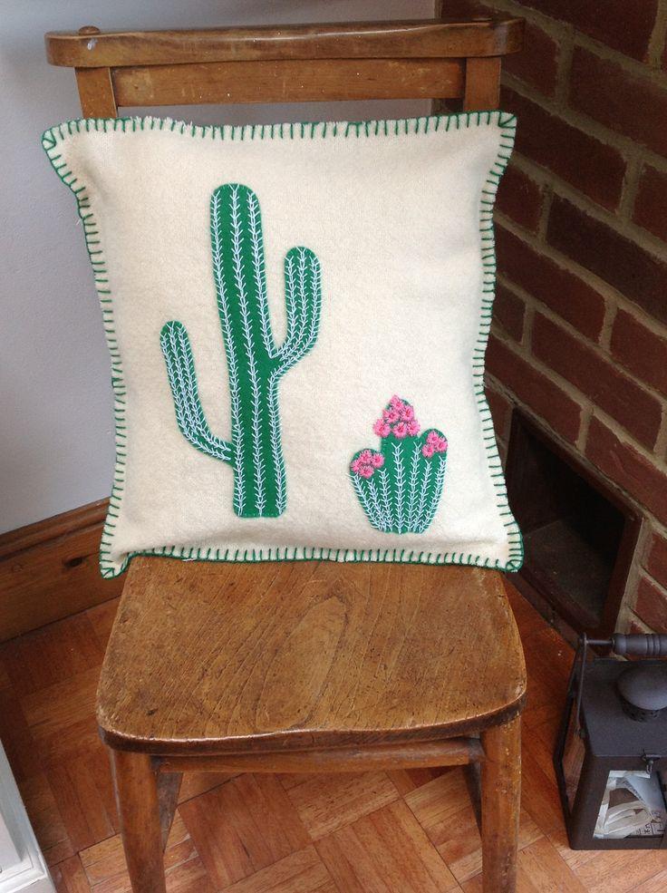 Cacti cushion
