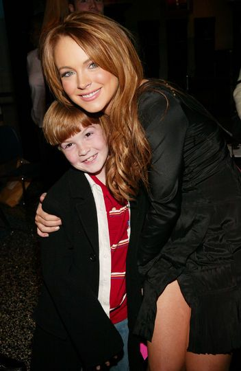 Whoa, Lindsay Lohan's little brother is all grown up!