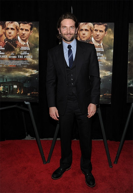 "Actor Bradley Cooper attends the premiere of Focus Features' ""The Place Beyond The Pines"" at the Landmark Sunshine Theater on Thursday March 28, 2013 in New York. (Photo: Evan Agostini/Invision/AP)"
