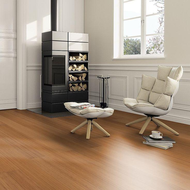 Parquet bambou massif - Compressé HD #wood #woodefloor #parquet #home #interior #white