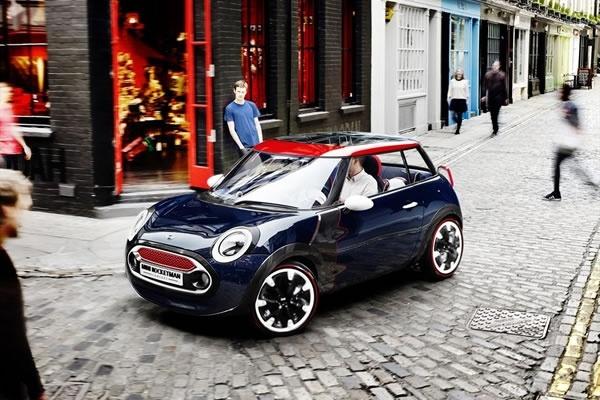 Auto oficial de los Juegos Olímpicos: London Olympic, Mini Coopers, 2012, Auto, Minis, Concept Cars