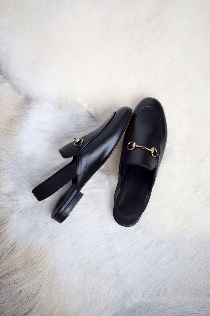 gucci sling back loafers