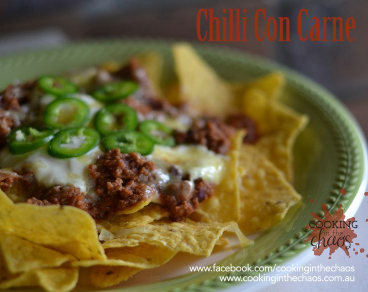 Chilli Con Carne - Cooking in the Chaos - Thermomix and Slow Cooker recipe