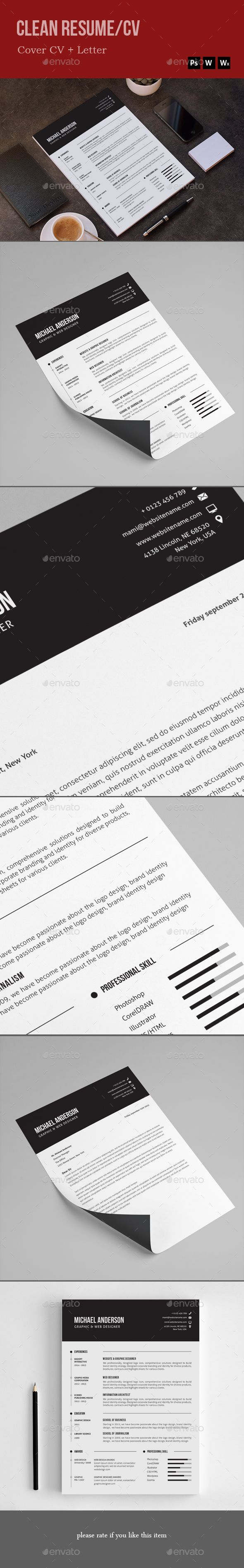 #Resume - Resumes Stationery Download here: https://graphicriver.net/item/resume/19948034?ref=alena994