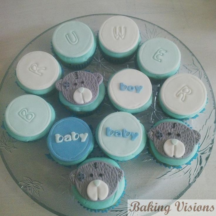 Tatty Teddy Cupcake Toppers - Baking Visions