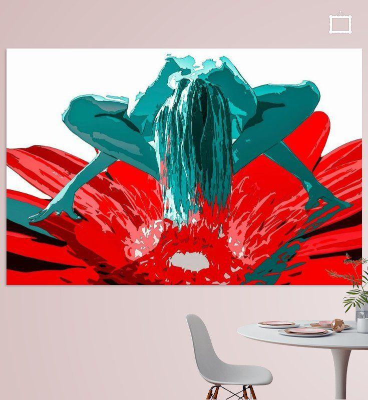 #styleartNieuw in mijn Werk aan de Muur shop: Dancing on a flower  #art #style #vtwdbeurs #vtwdb #wonen #kunst