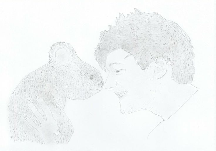 My drawing of Louis Tomlinson! :-)