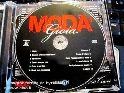 ... eppure gioia! :) xoxoxoxo  2013 - il nuovo album dei Moda'!