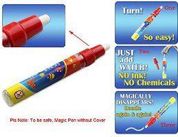 Fortan Malerei Schreib Matten-Brett magische Wasser-Feder-Gekritzel Spielzeug-Geschenk 29X19cm