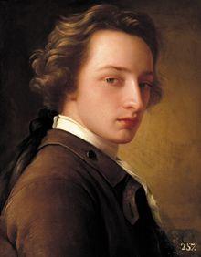 Portrait of an Unknown Man, by anonymous, c 1775. Museo de la Real Academia de Bellas Artes.