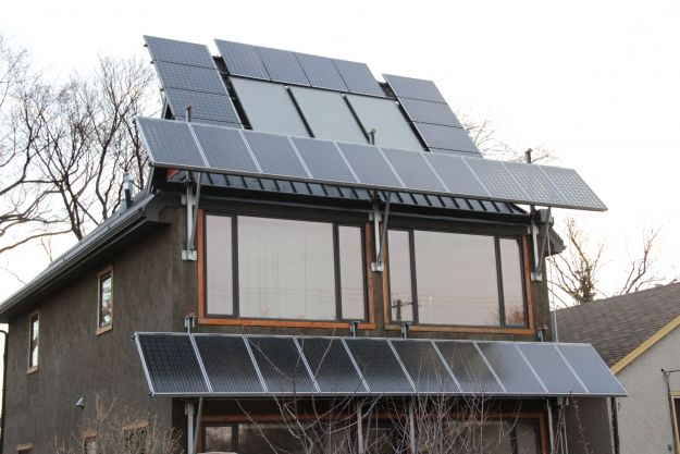Net Zero 101. The Millcreek net-zero home features  solar awnings and good passive solar design making it easy to get to net zero. Blog-Vidoe-Podcast.