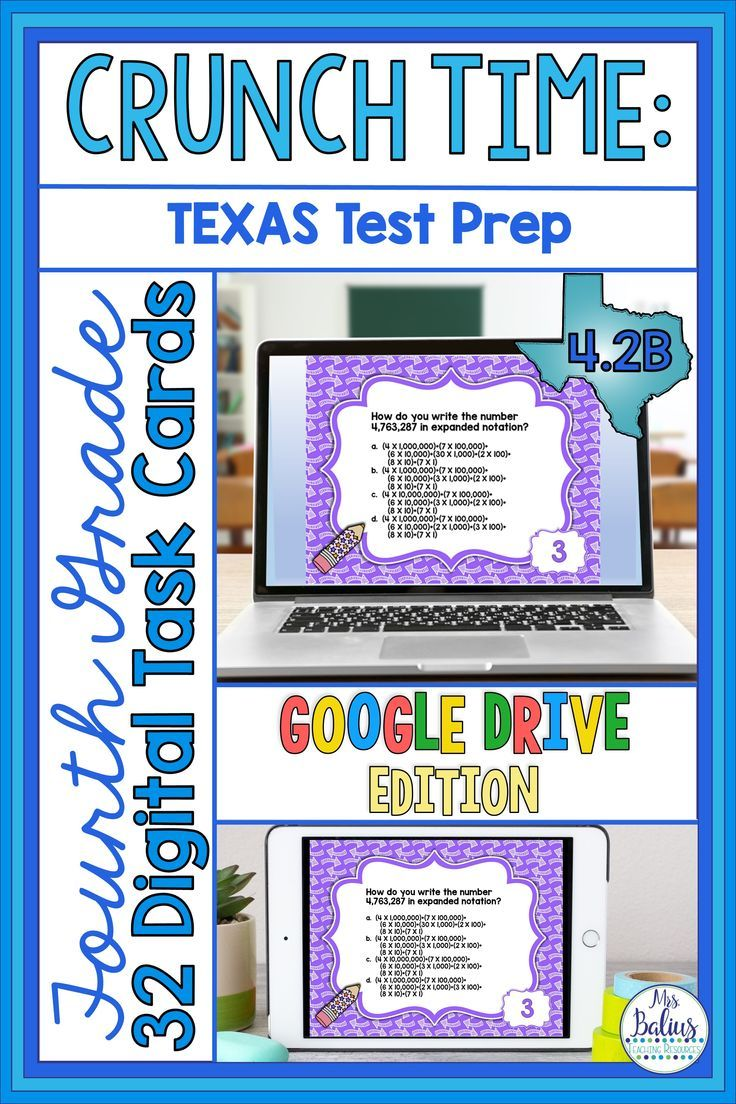 Fourth Grade Math Review Task Cards Fourth Grade Math Math Review [ 1104 x 736 Pixel ]