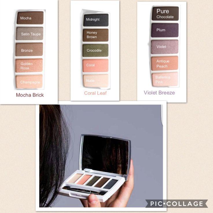 Nu Colour Eyeshadow palettes  En masse sker den 17.03.2017  I alt vores makeup er der anti-ageing ingredienser, så ingen undskyldninger for IKKE, at falde for det sidste nye   På billedet,kan man se 3 forskellige paletter som findes i forskellige farvetoner, som passer til enhver lejlighed ☝️vil du vide mere om produktet så meld dig ind i vores Facebook gruppe #NaturligvelværeNU Join our group #NaturligvelværeNU #eyeshadow #antiageing #Nuskin