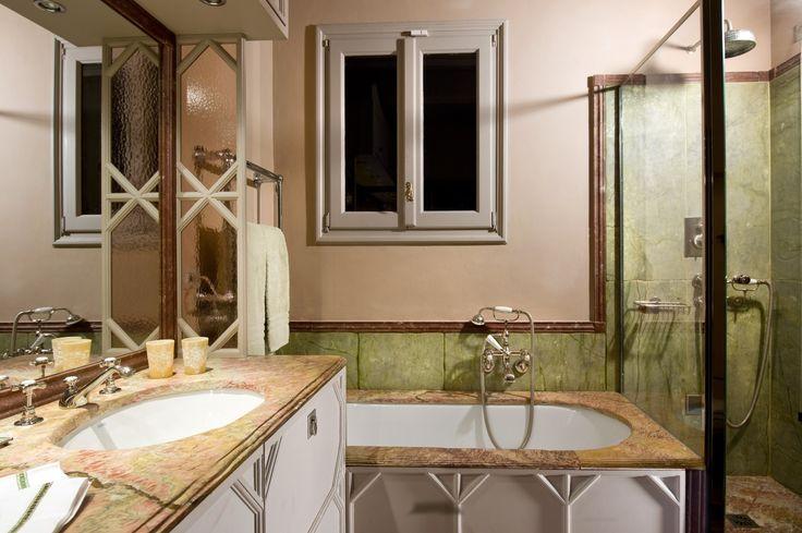 One of the Bathrooms of Palazzo Alverà Altana