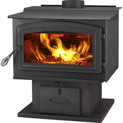 Tractor supply WoodPro WS-TS-2500 EPA-Certified Wood Stove with Blower Heats up to 2,500 sq. ft.