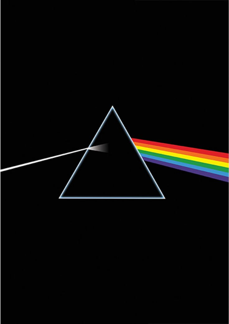 The Dark Side of the Moon - Pink Floyd - Música | Posters Minimalistas
