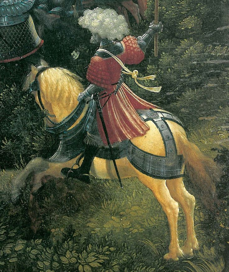 The battle of Issus(fragment) - Albrecht Altdorfer