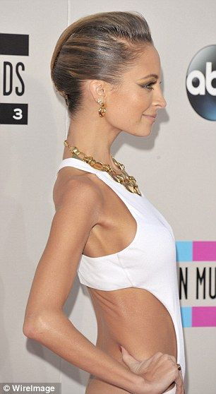 Rib and bone: At the American Music Awards in November, the 32-year-old appeared extremely thin, and pretty close to the infamous 2006 pictu...