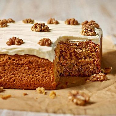 Mary Berry's Carrot Cake - from Lakeland