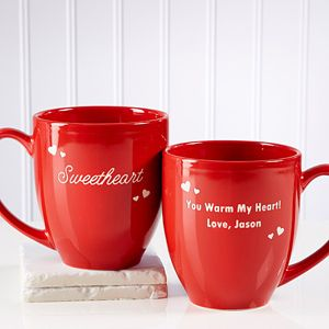 Show your special someone just how much you care with the Loving Nickname Personalized Bistro Mug. Find the best personalized romantic gifts at PersonalizationMall.com