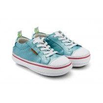 Tip Toey Joey, Funky Sneaker, Baby girl walking shoes, galaxy blue