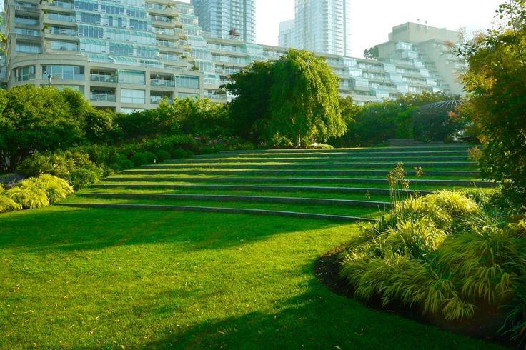 Music Garden Harbourfront Toronto