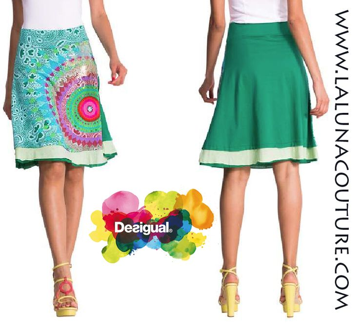 The season to show off your legs is now here! This green layered Gardner skirt has a galactic print in turquoise and pink tones with appliqués and dazzlingly colorful details.  Only $74! Perfect for Easter! Order now!  https://www.lalunacouture.com/desigual-gardner-a-line-skirt.html  #desigual #gardnerskirt #shop #boutique #ootd