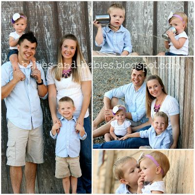 Cute family picture ideas!!