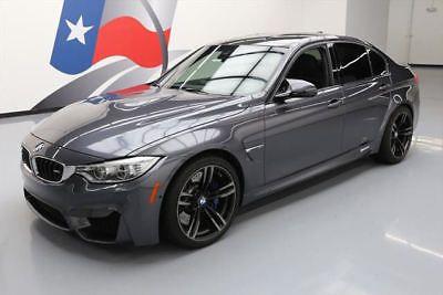 2015 BMW M3 2015 BMW M3 EXECUTIVE M DCT NAV HUD CARBON ROOF 16K MI #803224 Texas Direct Auto