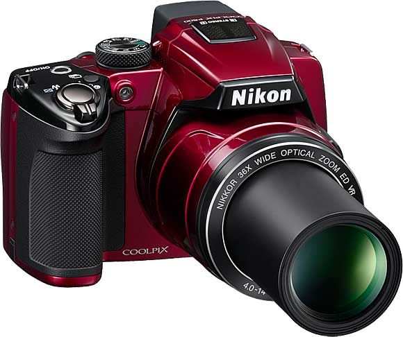 I so want this camera! Nikon p500....in red!!! Perfect for a girly girl like me <3<3