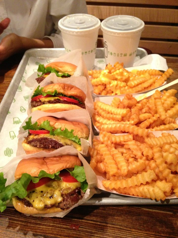 Shake Shack - The BEST fast food. Burgers, fries, and concrete-style shakes.