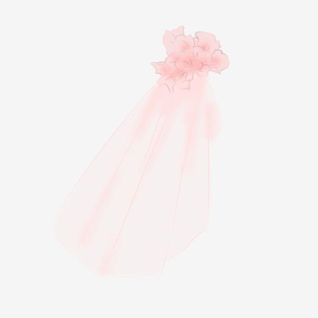 Pink Gauze Veil Png Veil Wedding Veil Bridal Wedding Decoration Png Transparent Clipart Image And Psd File For Free Download Pink Bridal Wedding Clipart Petal Veil