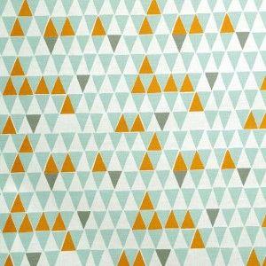 Spira Jaffa Light Turquoise Swedish Fabric