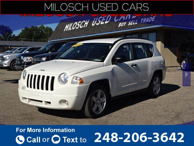 2008 *Jeep*  *Compass* *Sport*  95k miles $7,995 95864 miles 248-206-3642 Transmission: Automatic  #Jeep #Compass #used #cars #MiloschPreOwnedSuperstore #LakeOrion #MI #tapcars