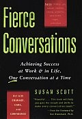 A guide to facilitating the honest, constructive conversations that move an organization forward. This has been super helpful to me as someone who naturally leans toward avoiding conflict. | Fierce Conversations Achieving Success by Susan Scott