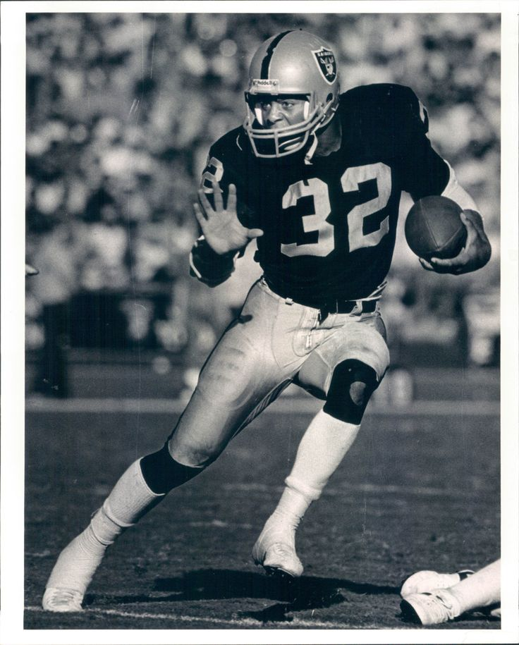 "1982-91 Marcus Allen Oakland Raiders ""The Sporting News Collection Archives"""