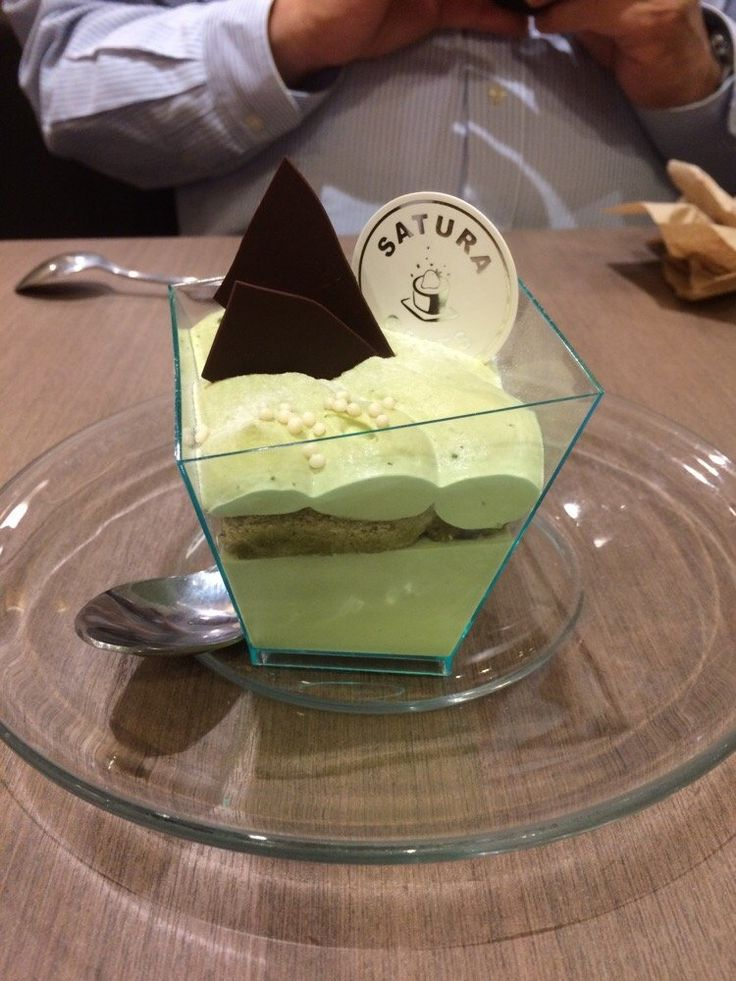 Satura Cakes (Los Altos, CA). Pictured: green tea panna cotta.