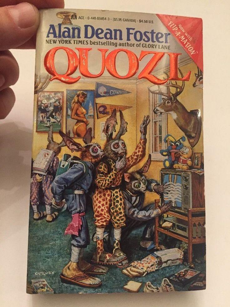 Quozl Alan Dean Foster White Mountain Collection Sci Fi HIGH GRADE UNREAD    eBay