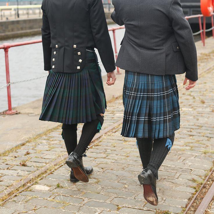 Scottish Traditional Tartan Kilts - Wedding, Groom