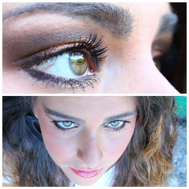 #makeup #bronzelook #faceoftheday #fotd #italiangirl #scattiitaliani #nofilter #fashionthings #followme #followforfollow #likeforlike #instaitaly #instagood #luisa
