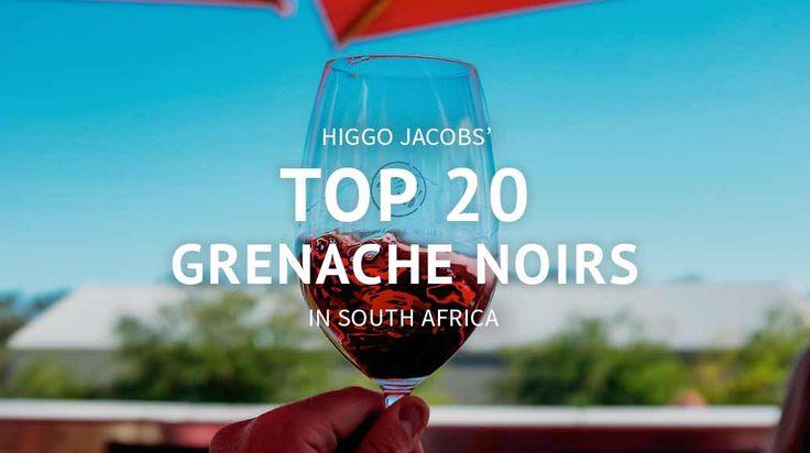 Sommelier Higgo Jacobs top Grenache noir #wines in South Africa. #grenache #southafrica #winetourism #exploresideways