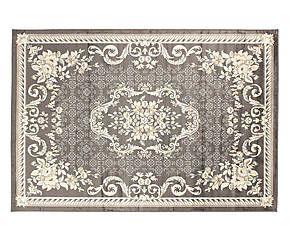 Tappeto in viscosa vintage velux grigio scuro - 100x140 cm
