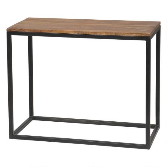 Narrow side table for living room for Long narrow side table