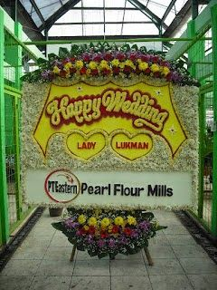 Bunga Papan Pernikahan 1 Eleven Wedding Hall - Smesco Wedding Hall | Toko Bunga by Florist Jakarta